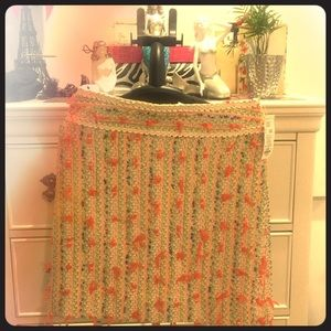 Etcetera multi color skirt size 2. New with tags
